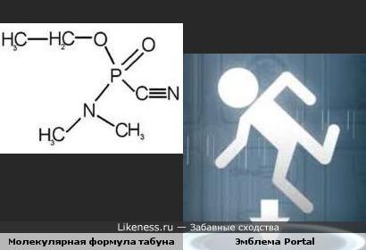 Молекула-человек, или молекулярная формула табуна напомнила бегущего человечка