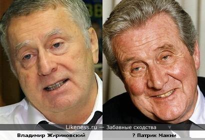 В.Жириновский, Патрик Макни