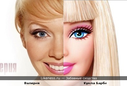 Валерия-стареющая кукла Барби