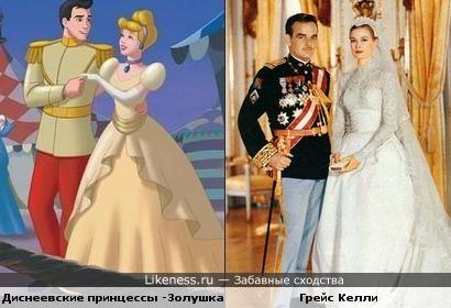 Звезды похожи на Диснеевских принцесс