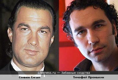 Тимофей Пронькин напоминает Стивена Сигала