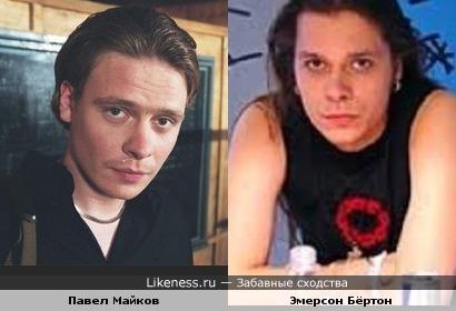 Павел Майков чем-то похож на клавишника группы H.I.M