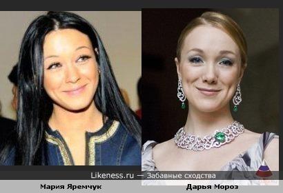 Мария Яремчук и Дарья Мороз