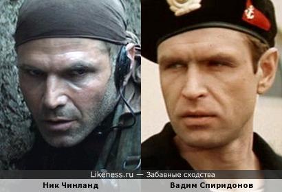 Ник Чинланд похож на Вадима Спиридонова