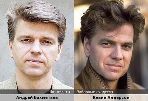 Андрей Бахметьев и Кевин Андерсон