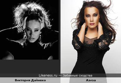 Виктория Дайнеко похожа на Азизу