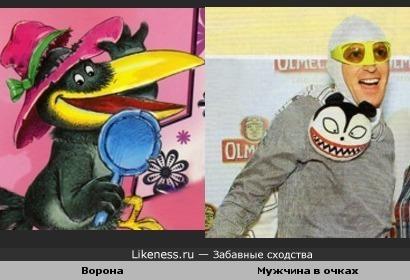 Ворона и Андрей Бартеньев