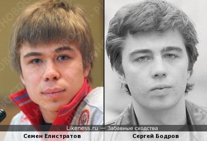 Семен Елистратов похож на Сергея Бодрова