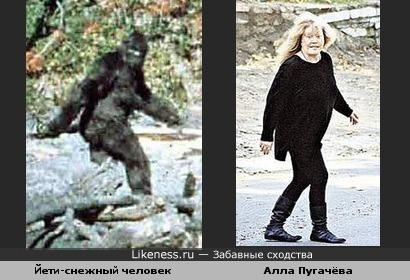 Алла Пугачёва - йети