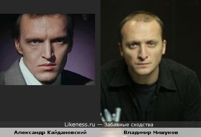 Владимир Мишуков похож на Александра Кайдановского