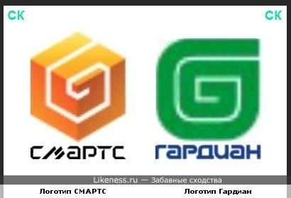 Логотипы компаний СМАРТС и Гардиан