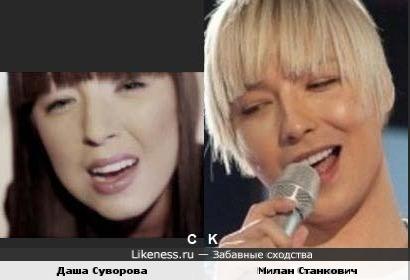 Даша Суворова и Милан Станкович