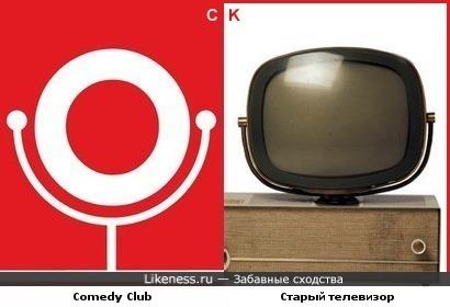 Comedy Club и старый телевизор