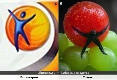 Вольтарен и томат