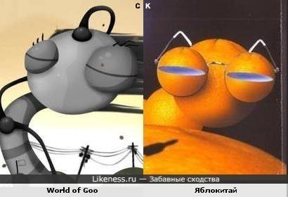 World of Goo и Яблокитай