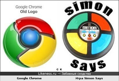 Google Chrome и Simon Says