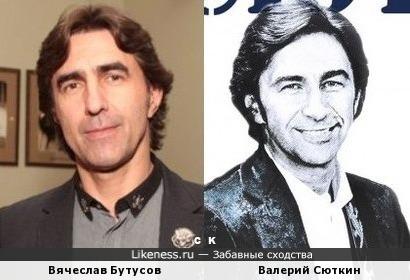 Вячеслав Бутусов и Валерий Сюткин