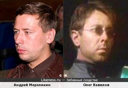 Андрей Мерзликин и Олег Вавилов