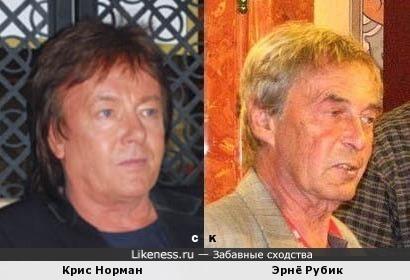 Крис Норман и Эрнё Рубик