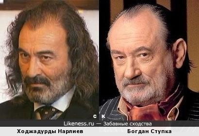Ходжадурды Нарлиев и Богдан Ступка