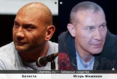 Батиста и Игорь Жижикин