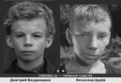 Дмитрий Владимиров и Вячеслав Царёв
