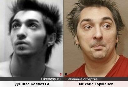 Дэниел Коллетти и Михаил Горшенёв