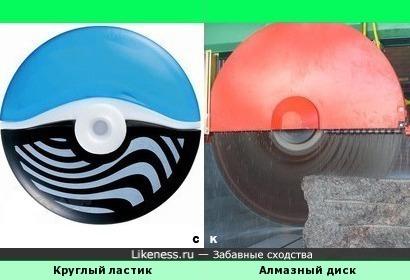 Круглый ластик и Алмазный диск