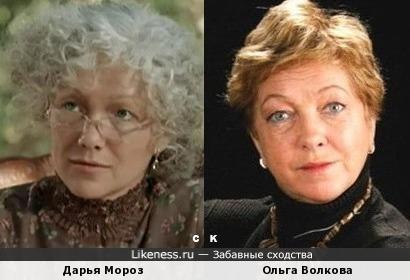 Дарья Мороз и Ольга Волкова