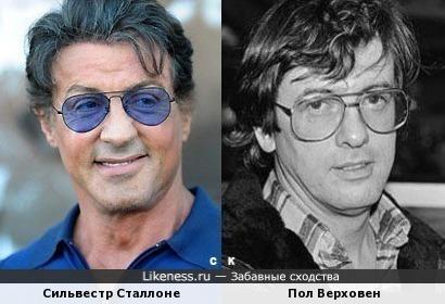 Сильвестр Сталлоне и Пол Верховен