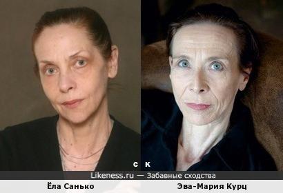 Ёла Санько и Эва-Мария Курц