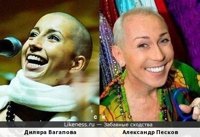 Диляра Вагапова и Александр Песков