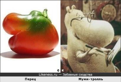 Перец и Муми-тролль