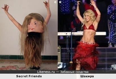 Secret Friends и Шакира