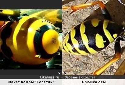 "Макет бомбы ""Толстяк"