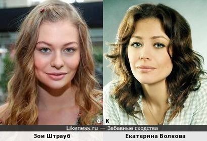 Зои Штрауб и Екатерина Волкова