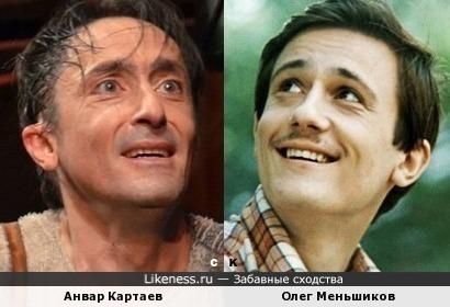 Анвар Картаев и Олег Меньшиков