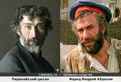 Пиренейский цыган и Фарид Мюррей Абрахам