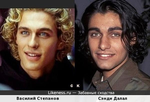 Василий Степанов и Сэнди Далал