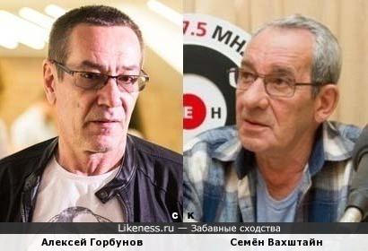 Алексей Горбунов и Семён Вахштайн