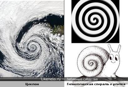 На что похож циклон