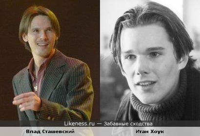 Влад Сташевский похож на Итана Хоука