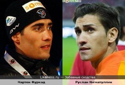 Биатлонист и футболист.