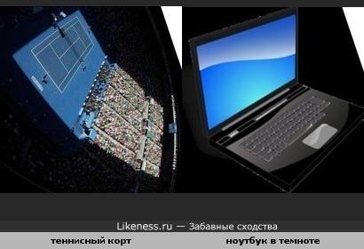 Найдите на экране монитора ... Марию Шарапову
