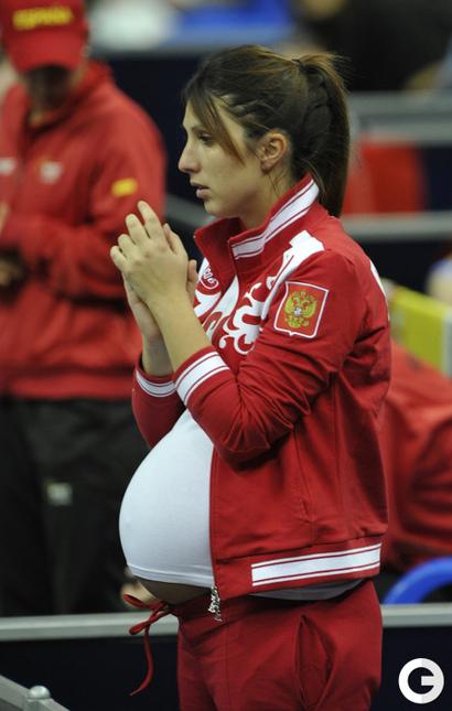 Анастасия мыскина беременна четвертым 18