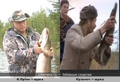 - Здесь рыбы нет. Владимир Владимирович, здесь рыбы нет! За дальний кордон ушла.
