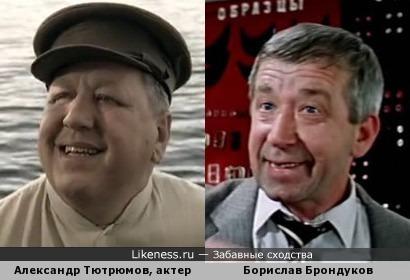 В этих фильмах оба актера - боссы. Что привычно для одного, но было редко для другого.