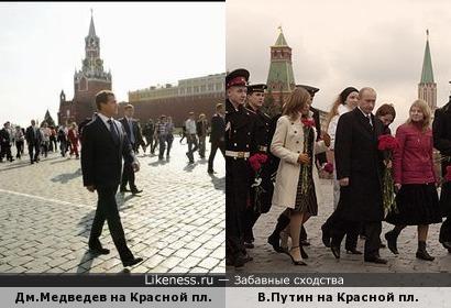 По Красной площади слонов водили, как видно напоказ?
