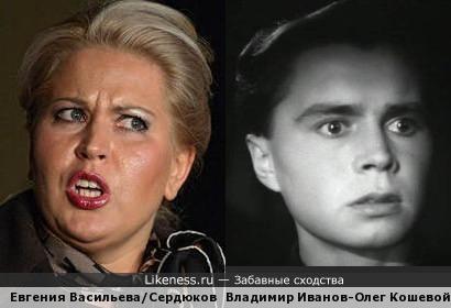 Поэтесса, подследственная, амазонка Сердюкова похожа на актера, игравшего Олега Кошевого