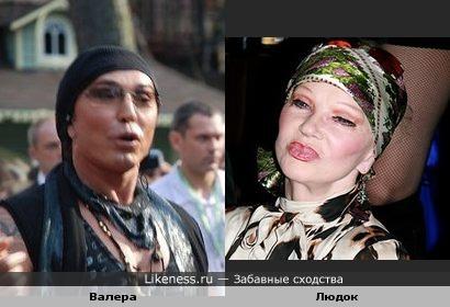 Леонтьев похож на Гурченко